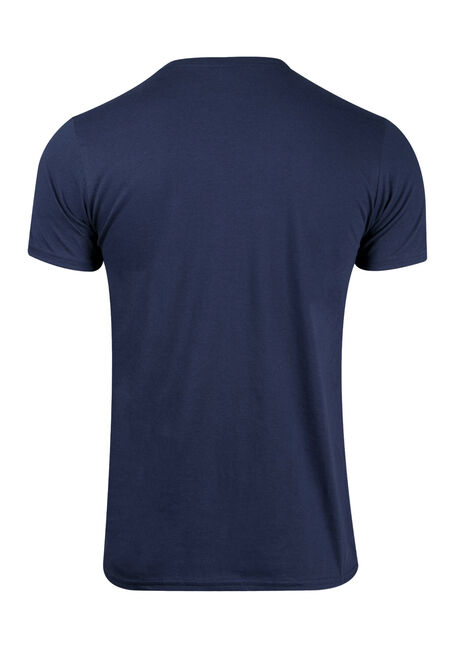 Men's Nerves Tee, NAVY, hi-res