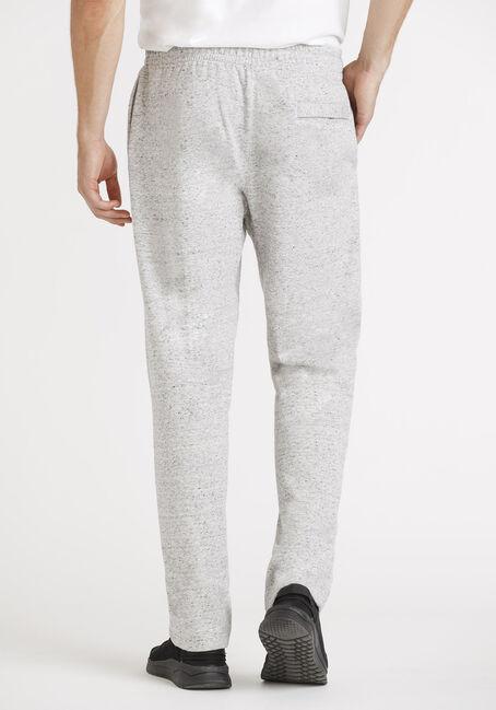 Men's Open Cuff Fleece Pant, HEATHER GREY, hi-res