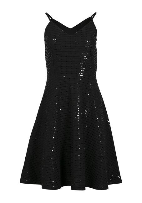 Women's Strappy Shimmer Dress