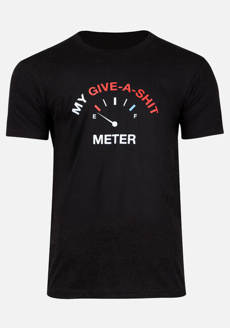 Men's Give-A-Shit Meter Tee