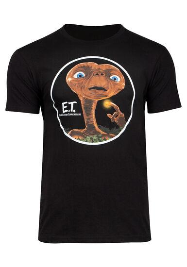 Men's ET Graphic Tee, BLACK, hi-res
