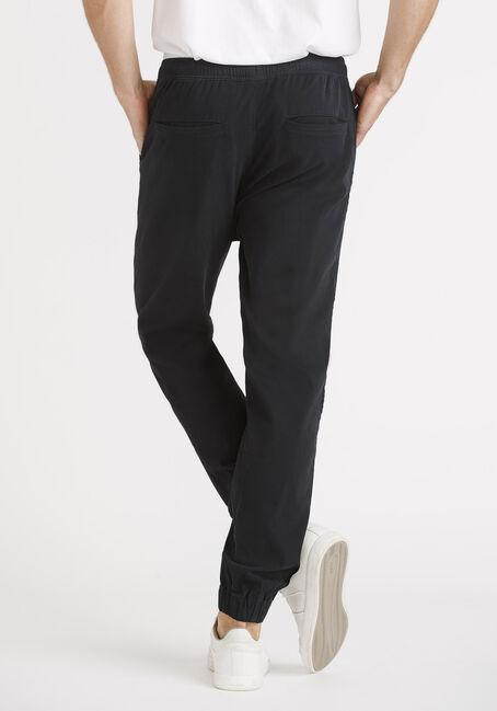 Men's Twill Jogger Tall, BLACK, hi-res