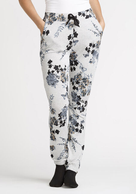 Women's Floral Print Jersey Jogger