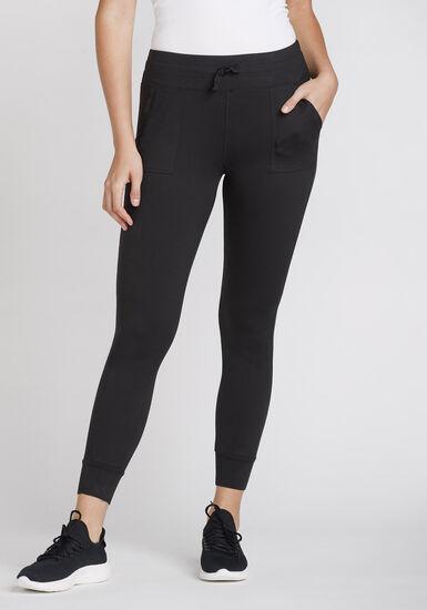 Women's Jogger Legging, BLACK, hi-res