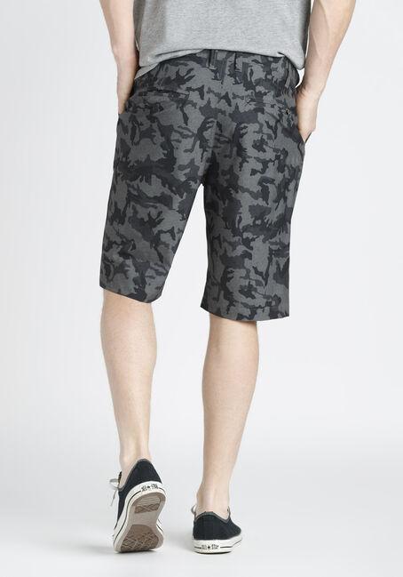 Men's Camo Hybrid Short, GREY, hi-res