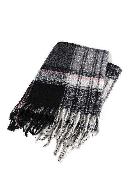 Ladies' Textured Blanket Scarf
