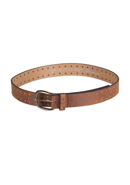 Ladies' Paisley Stud Belt