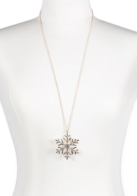 Women's Snowflake Necklace