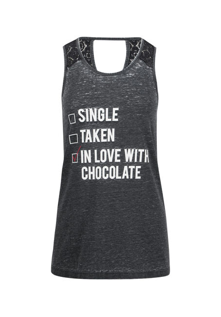 Ladies' In Love With Chocolate Tank