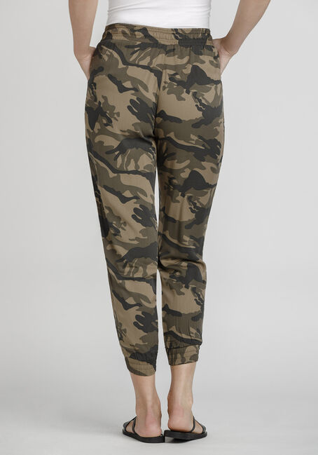 Women's Camo Soft Pant, DARK OLIVE, hi-res
