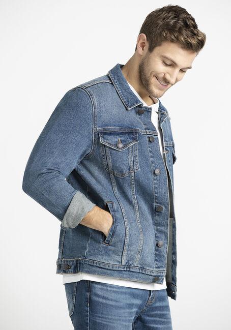 Men's Medium Blue Wash Denim Jacket