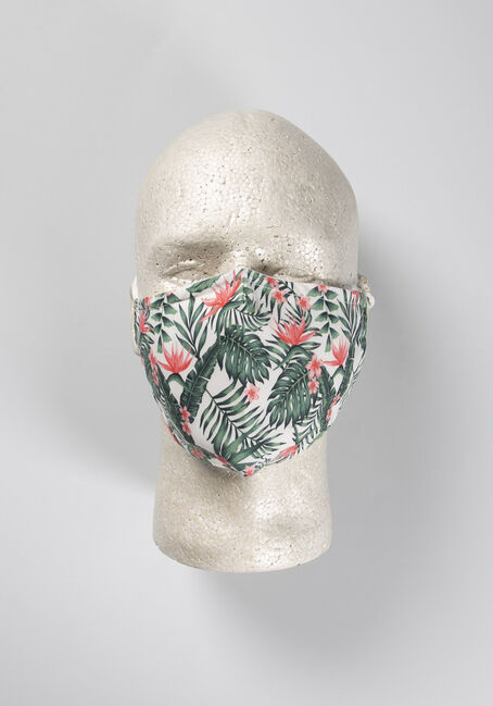 Palm Leaves Face Mask