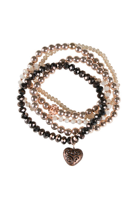 Ladies' Stretch Bead Bracelet Set