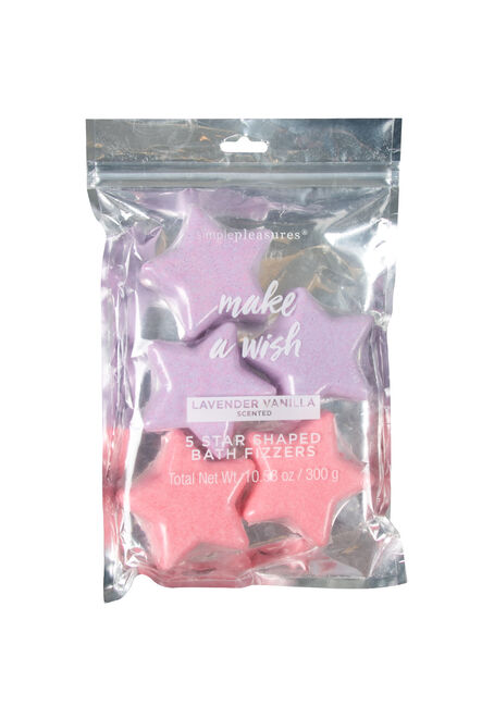 Make A Wish Star Bath Bombs