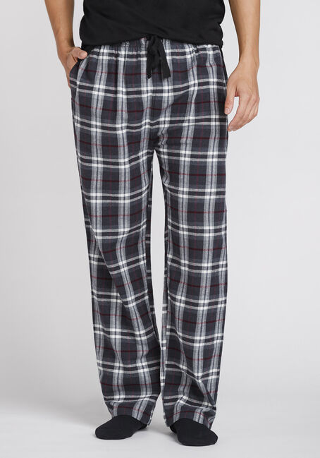 Men's Plaid Flannel Sleep Pant