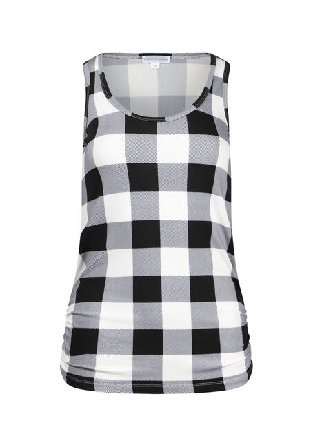 Women's Plaid Super Soft Tank