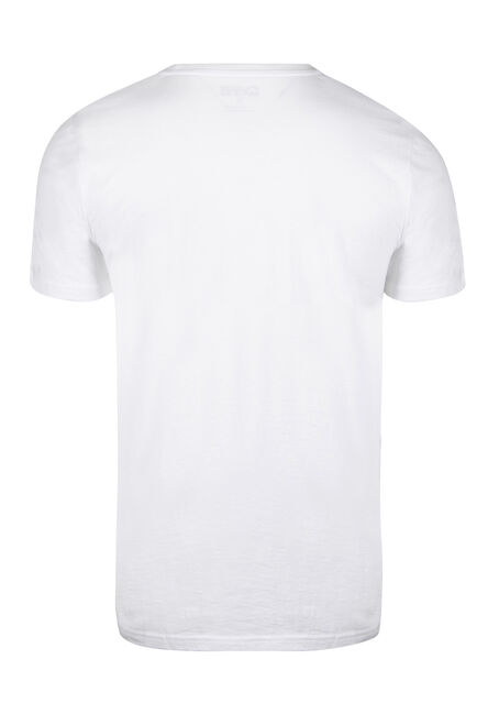 Men's Sugar Skull Tee, WHITE, hi-res