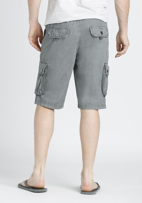 Men's Cargo Shorts, LIGHT GREY, hi-res