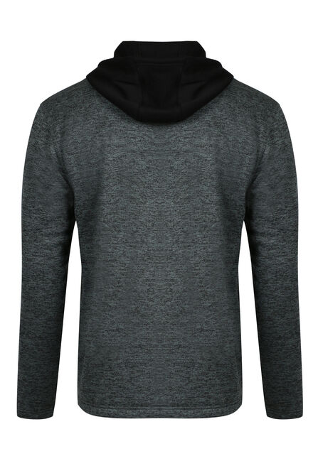 Men's Colour Block Hoodie, BASIL MIX, hi-res