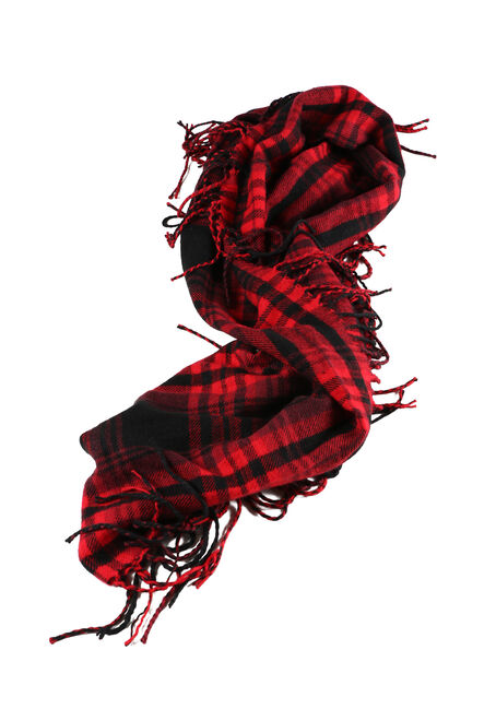 Ladies' Plaid Infinity Scarf