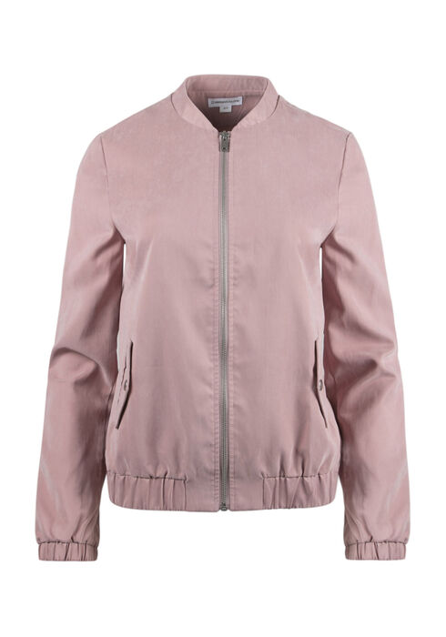 Ladies' Bomber Jacket, PINK, hi-res
