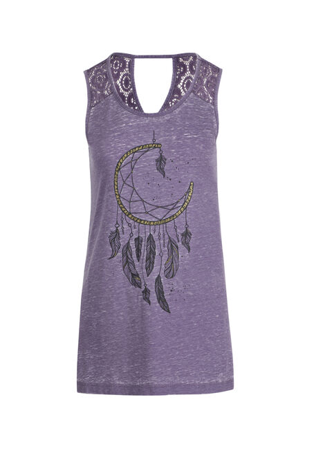 Ladies' Moon Dream Catcher Tank