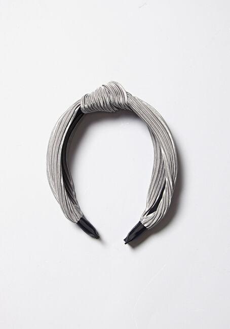 Women's Knot Top Headband, PALE BLUE, hi-res