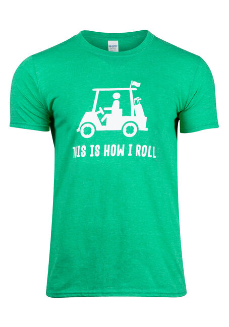 Men's How I Roll Tee