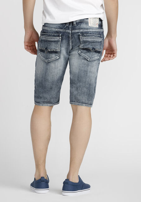 Men's Denim Short, LIGHT WASH, hi-res