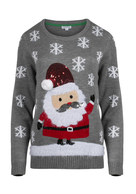 Ladies' Santa Sweater