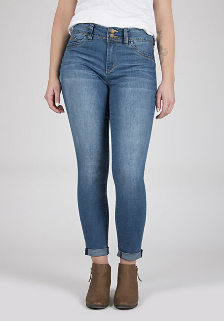 Ladies' High Rise Skinny Ankle Jeans