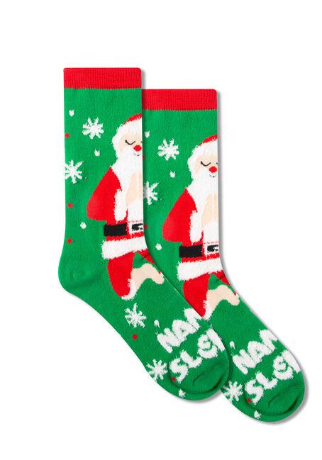 Women's Nama-Sleigh Crew Socks