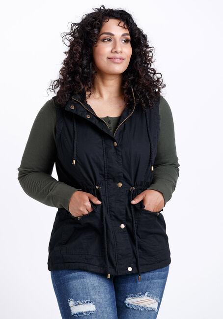 Women's Hooded Anorak Vest