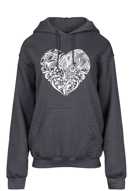 Women's Patchwork Heart Popover
