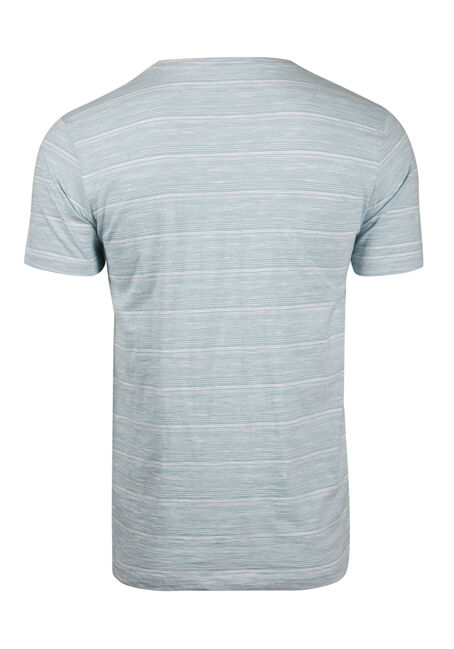 Men's Everyday Split V-Neck Tee, SKY, hi-res