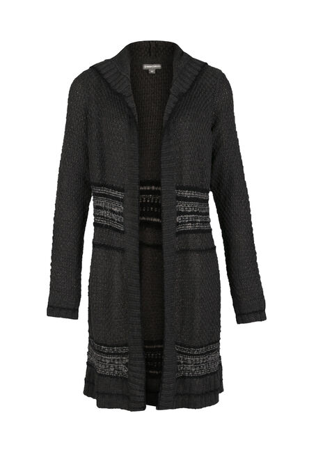 Ladies' Mixed Stitch Duster Cardigan