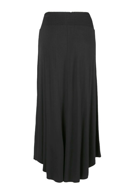 Women's Maxi Skirt, BLACK, hi-res