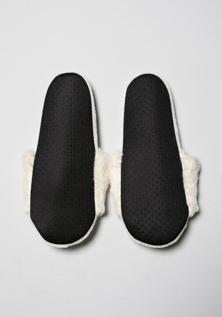 Women's Just Chill Slippers, IVORY, hi-res