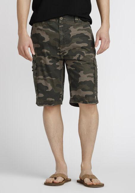 Men's Camo Cargo Short