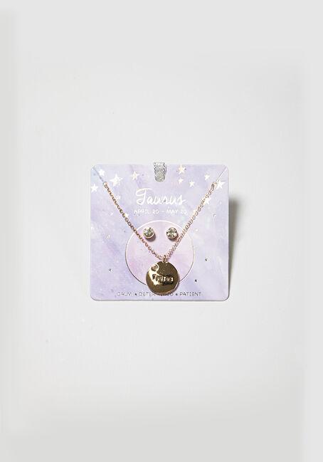 Women's Taurus Necklace Set