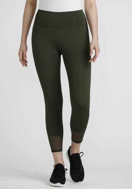 Women's Mesh Capri Legging