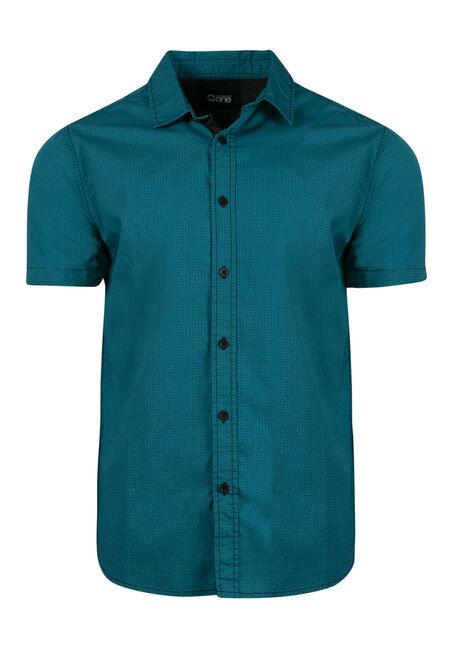 Men's Mini Chevron Printed Shirt