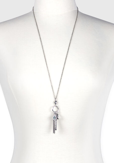 Women's Bar Charm Necklace