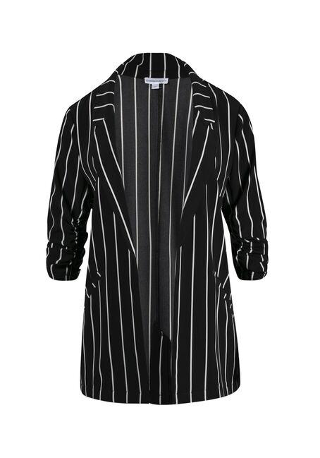 Ladies' Striped Blazer