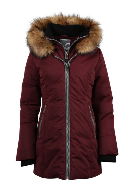 Ladies' Plus Size Quilted Parka