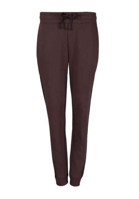 Ladies' Satin Trim Jogger