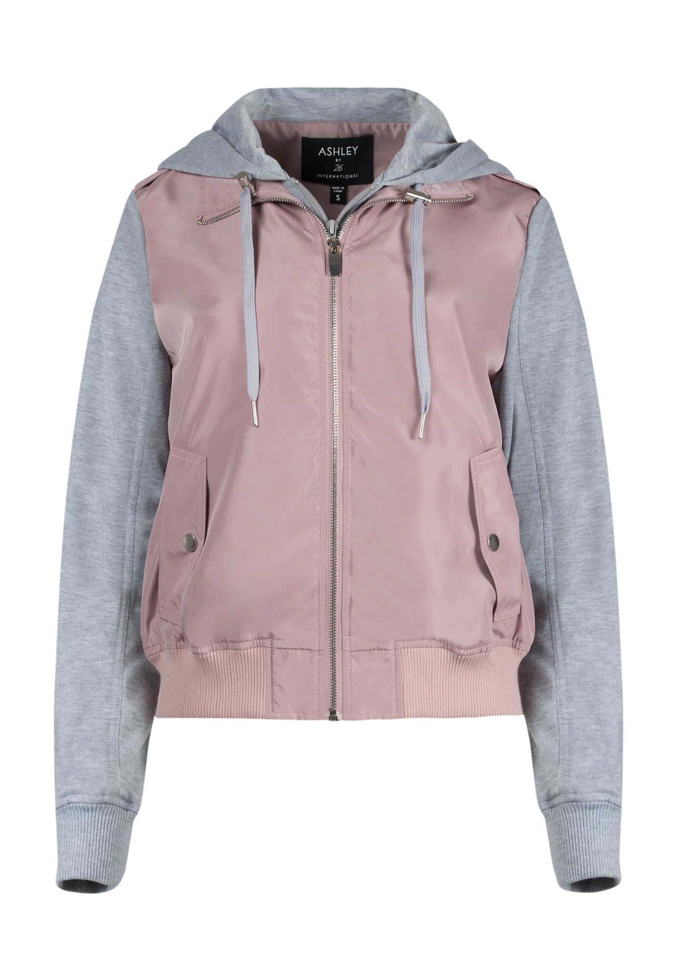 outlet online discount price the latest Ladies' Hooded Bomber Jacket
