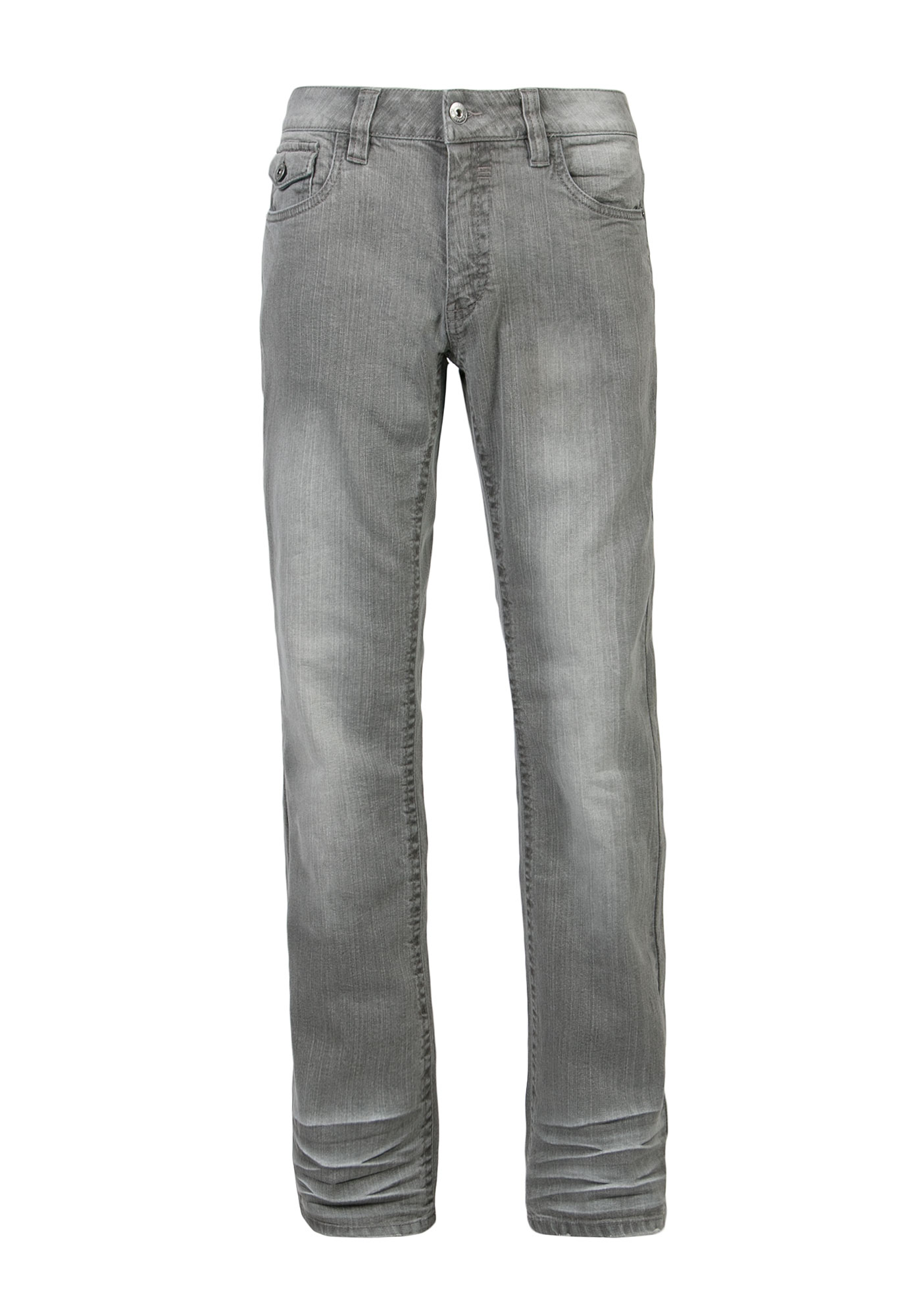 Men's Bootcut Jeans, GREY, hi-res