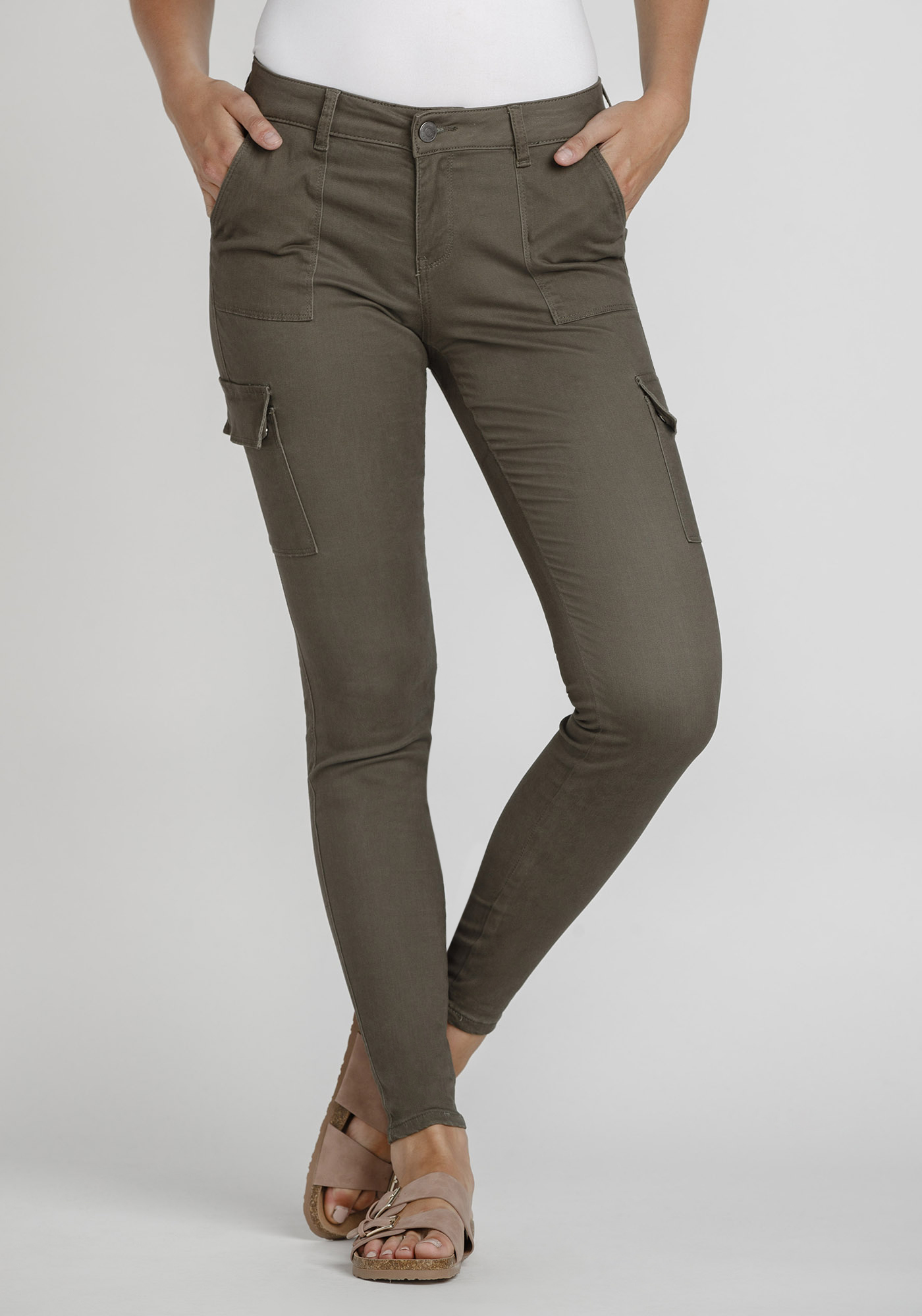 Womens Skinny Cargo Pant Warehouse One