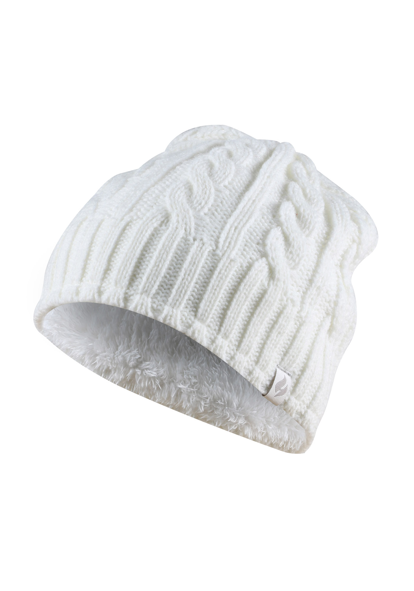 Images. Ladies  Thermal Cable Knit Hat ... 2fb91676621